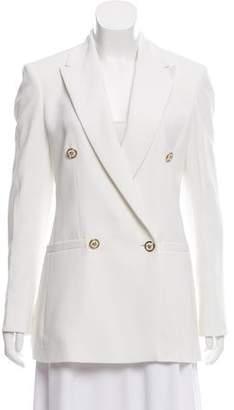Versace Structured Silk Blazer w/ Tags
