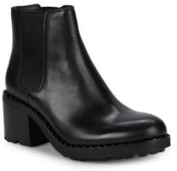 Ash Xao Leather Chelsea Boots