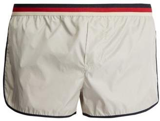Gucci - Striped Waist Swim Shorts - Mens - Cream Multi