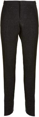 Thom Browne Bicolor Unconstructed Skinny Trousers