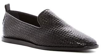 H By Hudson Ipanema Woven Loafer $150 thestylecure.com