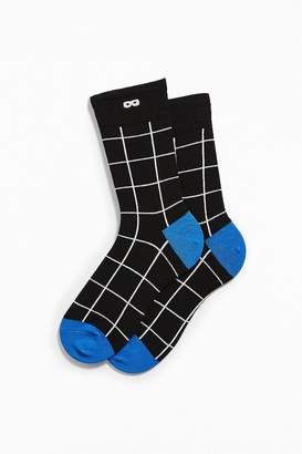 Pair Of Thieves The Grid Crew Sock