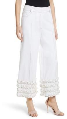 Cinq à Sept Carmelina Ruffle Cuff Pants