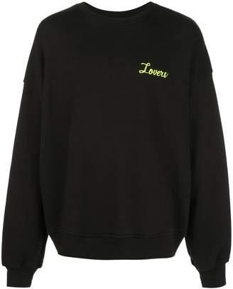 Amiri Lovers sweatshirt