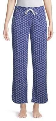 Printed Pull-On Pajama Pants