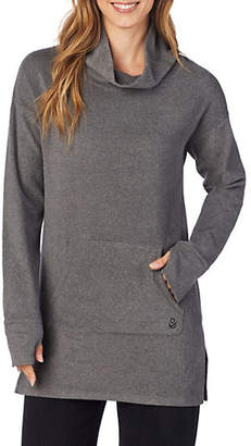 Cuddl Duds Fleecewear-with-Stretch Lounge Long-Sleeve Tunic