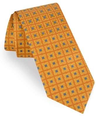 Ted Baker Square Flower Silk Tie