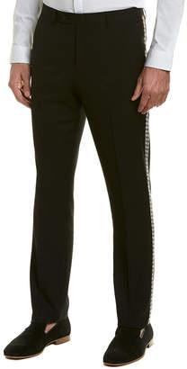 Sloane Paisley & Gray Slim Pant