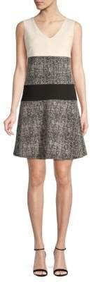 Donna Karan Flounce A-Line Dress