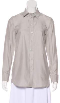 Lafayette 148 Silk Button-Up Blouse w/ Tags