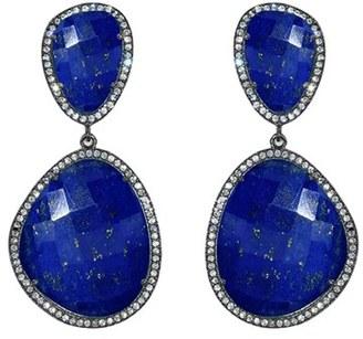 Women's Susan Hanover Semiprecious Stone Drop Earrings $195 thestylecure.com
