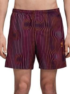 adidas Warped Stripes Swim Shorts