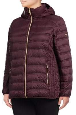 MICHAEL Michael Kors THE COAT EDIT Packable Quilted Jacket