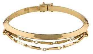 Eddie Borgo Peaked Chain Bangle