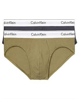 Calvin Klein Modern Cotton Stretch Hip Brief 2Pk