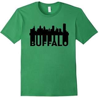 Buffalo David Bitton Roots Of NY Skyline Silhouette Graphic T-Shirt