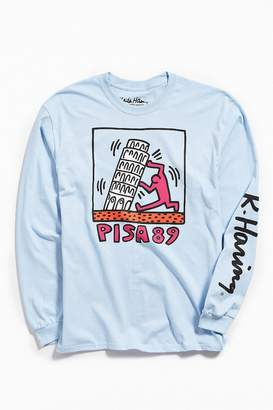 Urban Outfitters Keith Haring Pisa Long Sleeve Tee