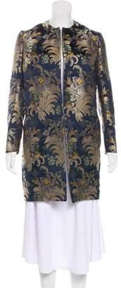 Ralph Lauren Silk Brocade Coat