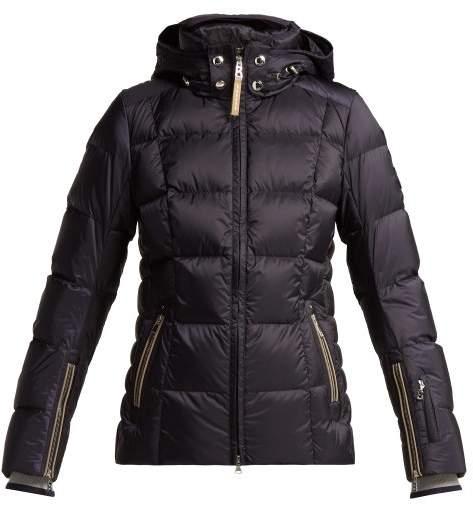 Vera Quilted Ski Jacket - Womens - Navy