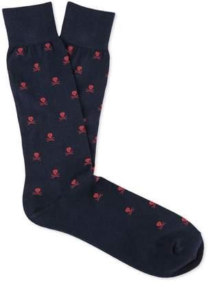 J.Mclaughlin Skull Socks