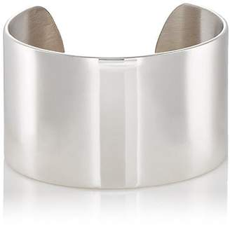 Tom Wood Women's Large Wide-Band Cuff - Silver