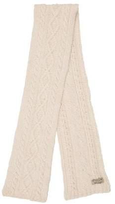 Burberry Wool Knit Scarf