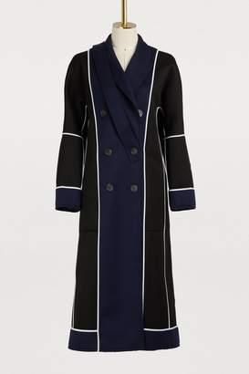 Gauchère Maiko reversible wool coat