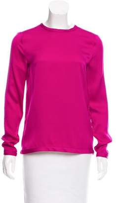 Tom Ford Silk Long Sleeve Top