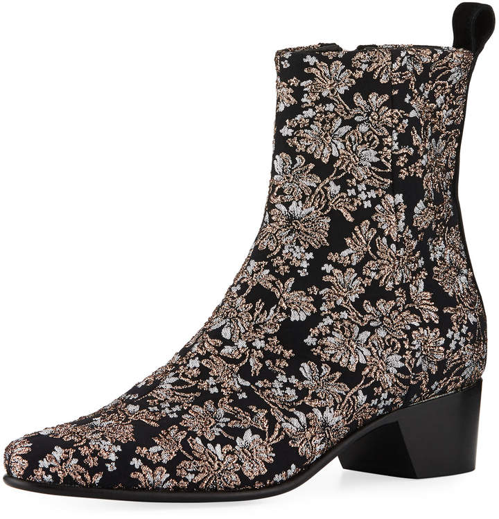 Pierre Hardy Reno Brocade Ankle Boot