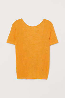 H&M Top with Low-cut Back - Orange