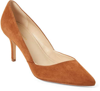 Marc Fisher Medium Brown Tuscany Suede Pumps