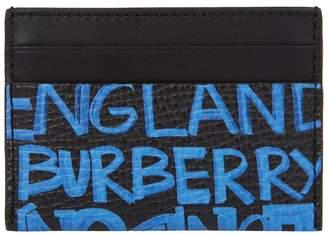 Burberry Leather Sandon Card Holder