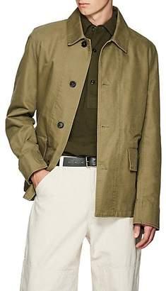 Margaret Howell Men's Cotton Twill Military Jacket - Green