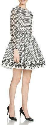 Maje Royan Lace Dress $545 thestylecure.com
