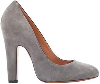 Alaia Grey Suede Heels