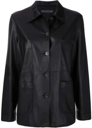 Simonetta Ravizza straight fit button jacket