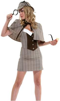 Forplay Women's Private Eye Costume Set