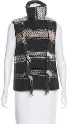 Edun Knit Zip-Up Vest