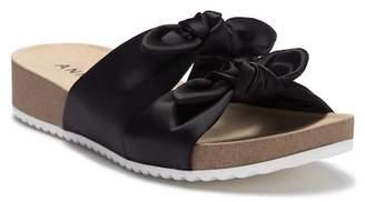 Anne Klein Quilt Slide Sandal