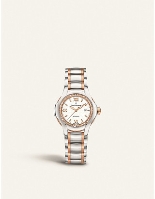 Mother of Pearl CARL F BUCHERER 00.10580.07.25.31.01 Pathos Diva stainless steel rose-gold, sapphire crystal, mother-of-pearl watch