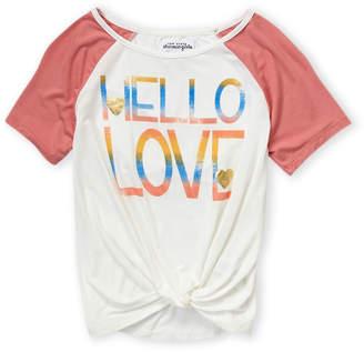 Ten Sixty Sherman Girls 7-16) Hello Love Tee