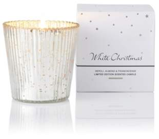 The White Company White Christmas Candle