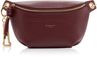 Givenchy Whip Two-Tone Leather Belt Bag Size: 85 cm