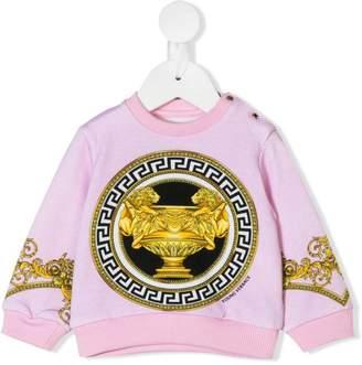 Versace Barocco print sweatshirt
