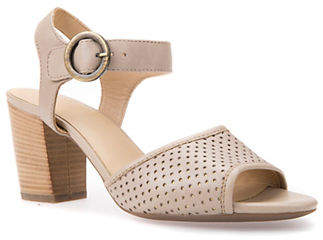 Geox Eudora Laser-Cut Sandals