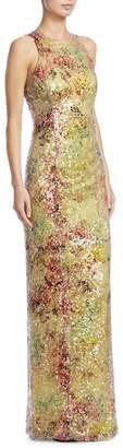 Galvan Miraflores Sequin Gown