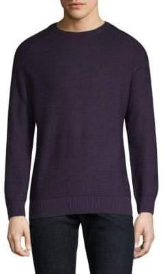 Bugatti Woven Crewneck Sweater
