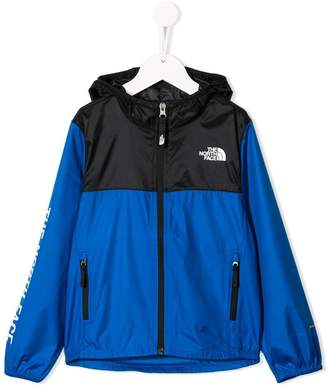 The North Face Kids contrast hooded jacket
