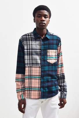 Urban Outfitters Patchwork Plaid Flannel Shirt