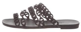 Hermes Chaîne D'Ancre Slide Sandals